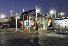 פיתוח כניסה למרכז הטניס